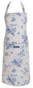 Apron Camille dusty blue