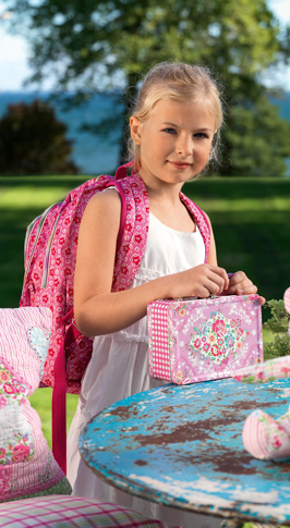Rugtas en broodtrommel / lunchbox GreenGate online te kopen