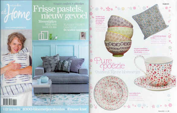 Pers greengate deens serviesgoed lifestyle webshop for Magazine ariadne at home